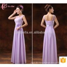 Heißer Verkaufs-purpurroter Soem-Service Suzhou-Fabrik-Brautjunfer-Kleid
