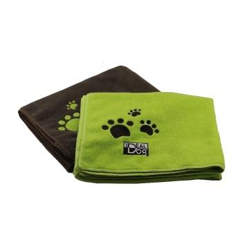 Toalla de baño seco absorbente de microfibra para mascotas