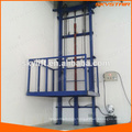 Industrial warehouse platform lift pallet elevator