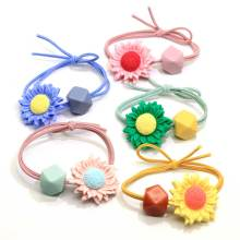 Fashion Women Girls Hairdressing Rubber Band Hair Ties Rings Ropes Springs Ponytail Holders Hair Accessories Elastic Hair Band
