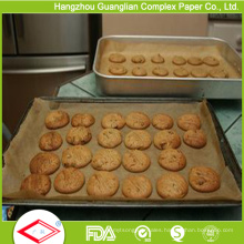 Siliconised Non-Stick Cooking Paper Oven Pan Liners From Factory