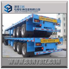 40`Ft 3axles Container Semi-remorque à plateau