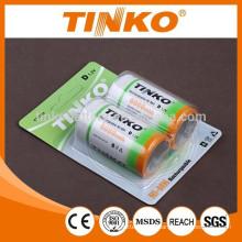 NiMH rechargeable battery(accumulators) taille D haute qualité OEM s'est félicité