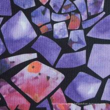 Oxford 600d High Density PVC/PU Bricks Printed Polyester Fabric