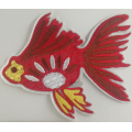 Maskinbroderi Applique Patch Designs Goldfish Patch