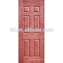 3.0MM MDF piel de puerta moldeada