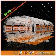 affichage supérieur de support de publicité de toit dans le type d'arc pour l'exposition commerciale