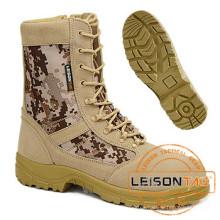Taktische Camouflage Stiefel aus wasserdichtem Nylon und Rindsleder