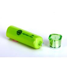 Отбеливание моющее средство Pearlized пластиковые упаковки труб с Pearlized Cap