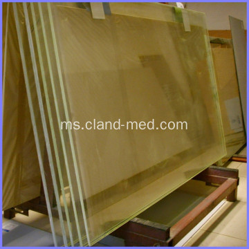 X-Ray Protective Lead Glass Lead Glass Untuk CT Scan Room