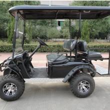 Carrinho de golfe de baixo preço com pneus fora de estrada