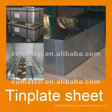 Prime tinplate JISG 3003 MR grade DOS oiling Bright Finish