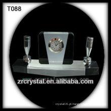 Maravilhoso K9 Crystal Clock T088