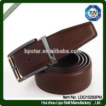 Ceinture en cuir véritable en cuir véritable de nouvelle conception pour ceintures pour hommes d'affaires / cintos de cuir en cuir pour homme