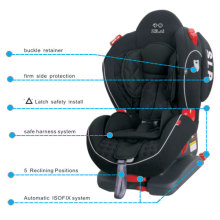Baby Car Seat with Latch Safety Install and Isofix System