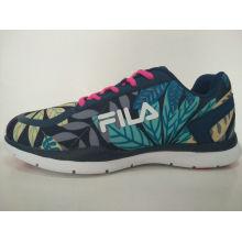 Zapatillas de deporte coloridas de la impresión de las