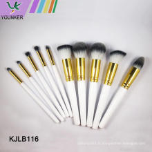 Ensemble de pinceaux de maquillage professionnel logo personnalisé