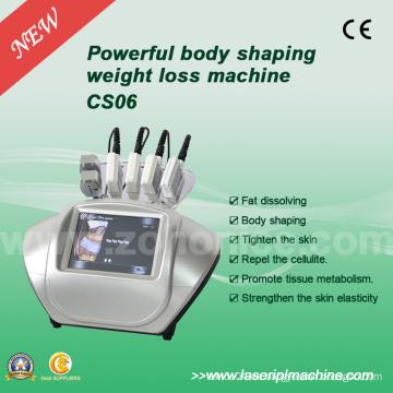 CS06 6 manejar la pérdida de peso 650nm láser máquina de d