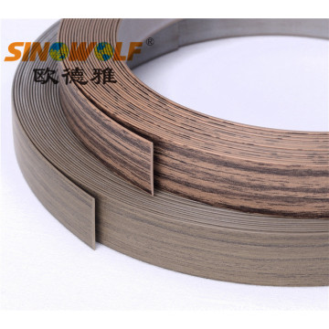 Woodgrain Matt και Embossing Matt Finished Edge Banding