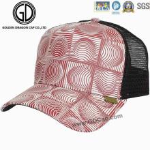 Capuchon géométrique géométrique de la mode Capuchon / chapeau Mesh / chapeau