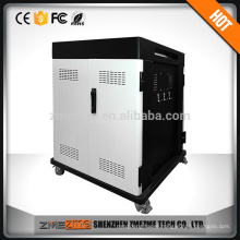 2017 Secure Tablet Charging Cabinet Pc Charging Cart/Trolley Mobile Podium