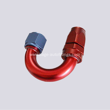 PTFE 180° Hose End Suit 200 Series Hose
