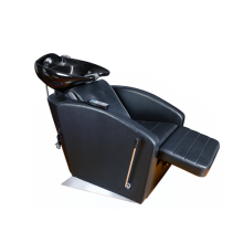 Salon Furniture Type and Genuine Leather Material adjustment shampoo chair for sale DP-7832
