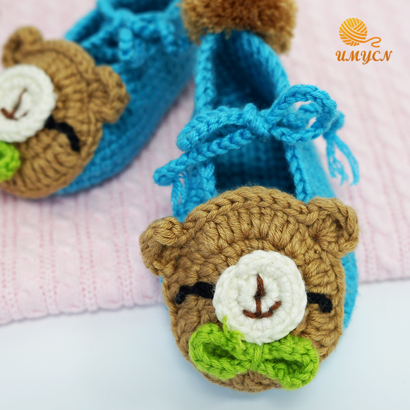 Baby Shoes Crochet Pattern