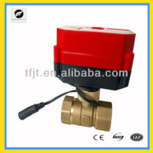 "remote wireless DC9-24V 1/2"" Brass electric motor control valve"