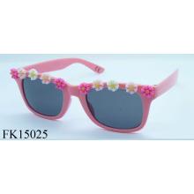 CE-Zertifizierung mit Blume Sonnenbrille für Mädchen (FK15025)