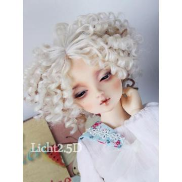Wig Short Curly Hair[370] for SD/MSD/YSD BJD