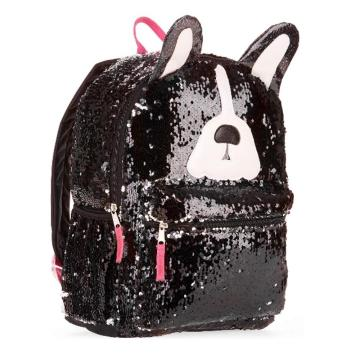 PUPPY TRAVEL SEQUIN BACKPACK-0