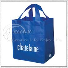 Bolso de compras no tejido promocional respetuoso del medio ambiente (KG-NB019)
