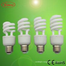T3 9-15W Half Spiral CFL Lamp Light