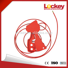 Universal Multipurpose Cheap Cable Lockout for locking valves