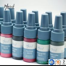 Mastor cejas Permanente Maquillaje Pigmento Tatuaje Tinta
