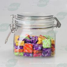 160z Haustier-Plastikbehälter-Glas für Süßigkeit-Verpackung (PPC-57)