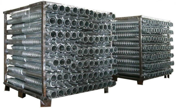 Galvanized Post Anchors