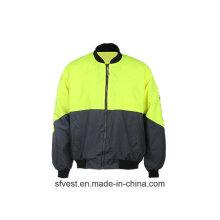 Куртка с высокой видимостью безопасности с EN ISO 20471