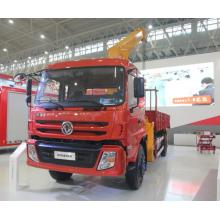 Chasis Dongfeng Camión grúa móvil de 8 toneladas