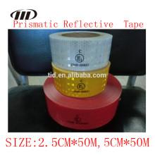 Fita reflexiva da alta intensidade ECE 104 R, fita reflexiva prismático