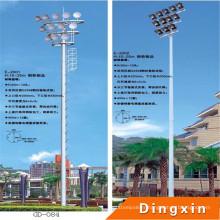 Poteau d'éclairage élevé de mât de stade de sports de 15m avec l'échelle artificielle