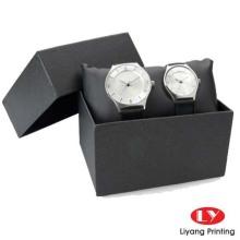 Buenas ventas caja de reloj clásico negro