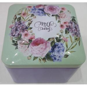 Antik Rose Festlig Candy Tin Box