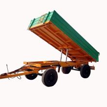 Сельскохозяйственный двухосный 4-колесный гидравлический прицеп