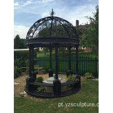 Beautiful Garden Design Gazebo de ferro fundido