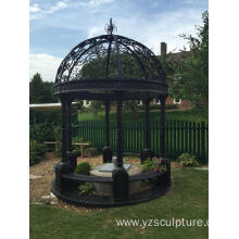 Beautiful Garden Design Cast Iron Gazebo