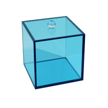 Acrylic Square Canister With Lid