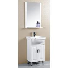 ПВХ Белый окрашенного мебель шкафа ванной комнаты (Р-020)