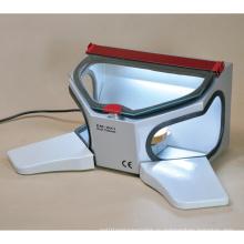 Em-Bx1 Стоматологический шкаф для пескоструйной обработки (деревянные подлокотники)
